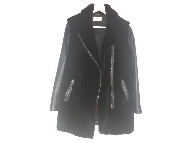 Manteau zapa femme fourrure