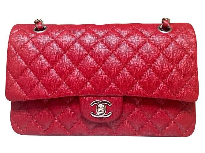 1f363981ce Sacs à main Chanel Sacs à main Cuir Rouge ref.54311 - Joli Closet