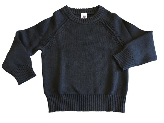 Petit Bateau Sweaters Sweaters Other Navy blue ref.54463