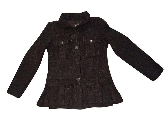 Chanel Jacket Jackets Other Black ref.54592