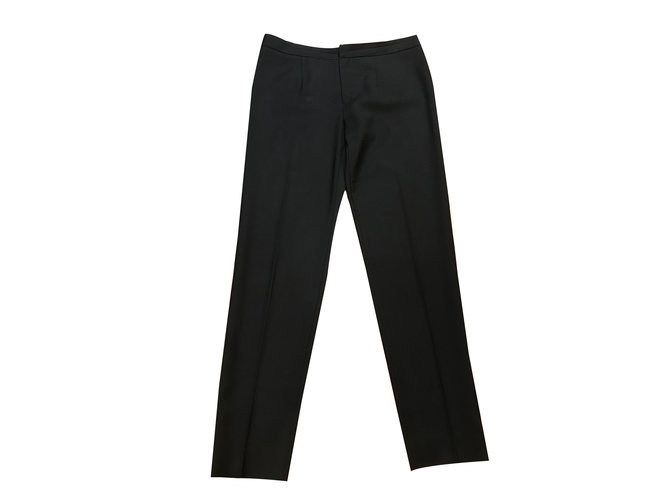 Chloé Pants, leggings Pants, leggings Wool Black ref.54708