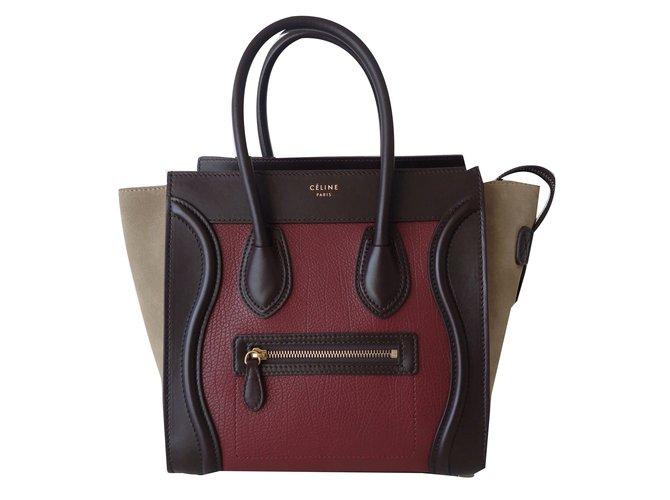 Sacs Multicolore Micro Cuir Sac Celine Luggage Ref Main À Céline 5jqAR4L3