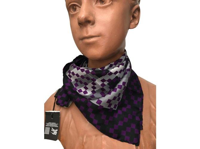 Burberry Silk scarves Silk scarves Silk Purple ref.54947