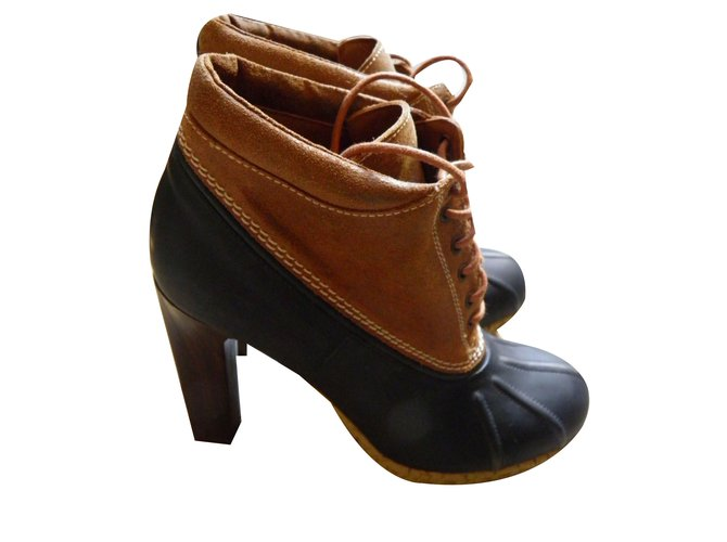 d71b8b97f65a9c Tommy Hilfiger bennington duck boots Ankle Boots Other Multiple colors  ref.55000