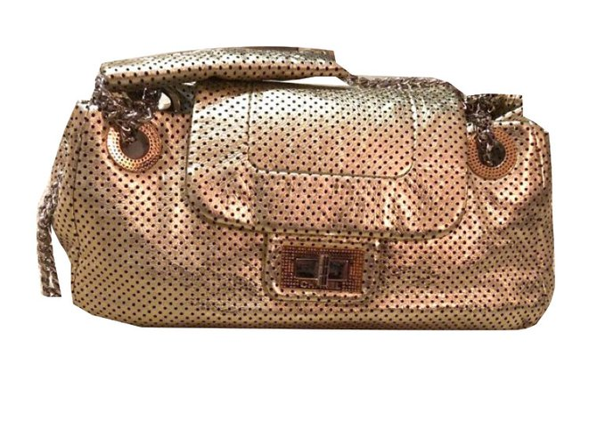 Chanel Perforated Handbags Other Golden Ref 55009