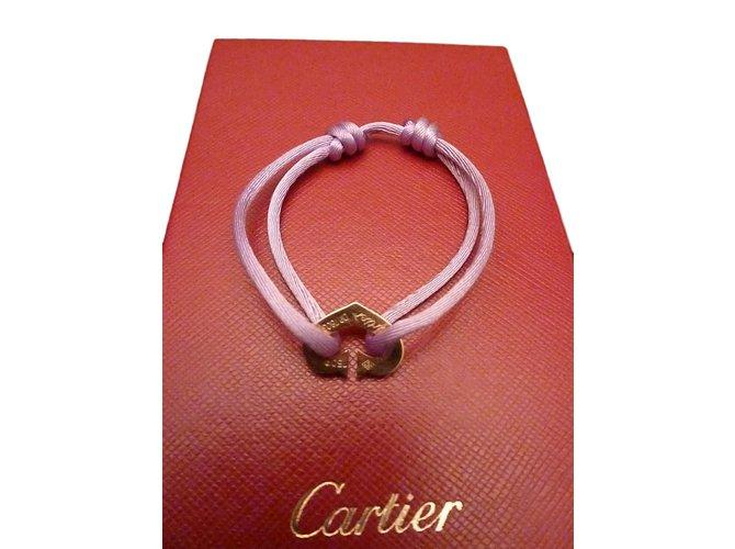 Cartier Heart Bracelet Bracelets Yellow Gold Multiple Colors Ref 55461