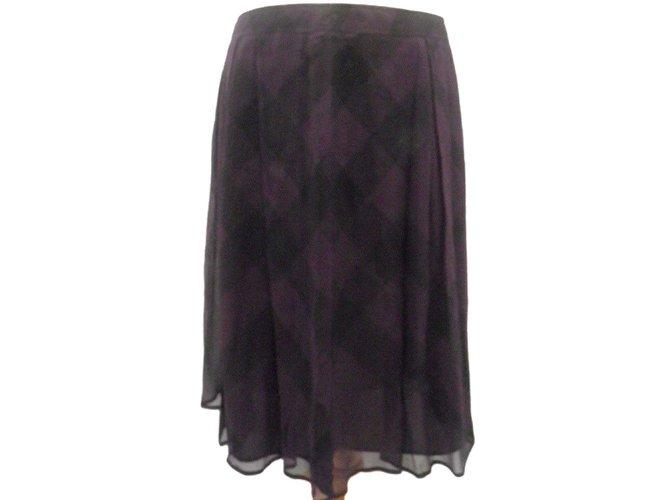 Burberry Skirts Skirts Viscose Black ref.55546