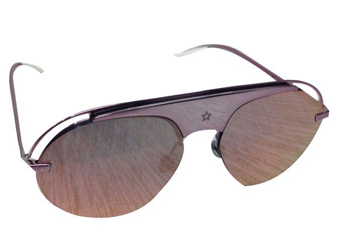 d1848e96651 Dior Dior revolution 2 pink sunglasses Sunglasses Metal Pink ref.55690