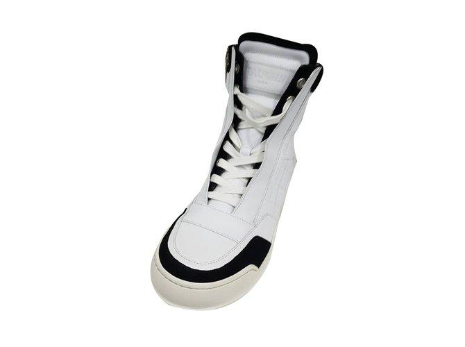 658bdf44e Balmain Shoes new balmain Boots Leather White ref.55708 - Joli Closet