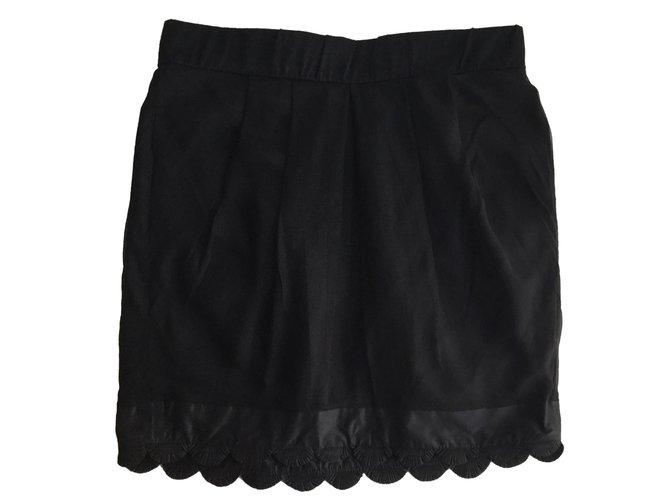 Chloé Skirts Skirts Silk Black ref.56130