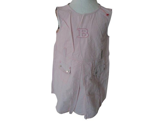 Burberry Dresses Dresses Cotton Pink ref.56544