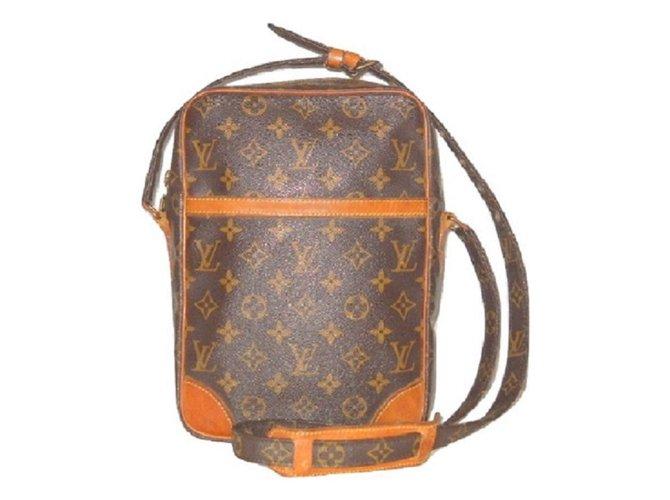 0fe1a5b20ddc Louis Vuitton vintage Danube MM Monogram. Bags Briefcases Leather ...