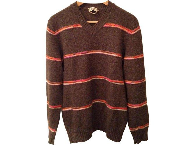 Hermès Sweaters Sweaters Cashmere Brown ref.56698