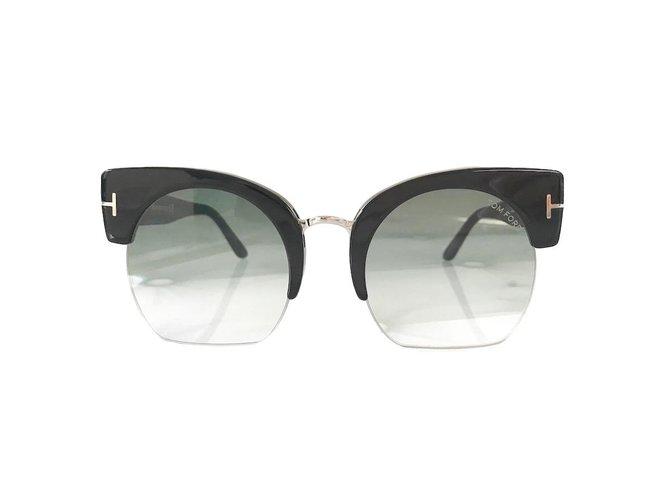 980a57e9387 Tom Ford Sunglasses Sunglasses Plastic Black ref.56772 - Joli Closet