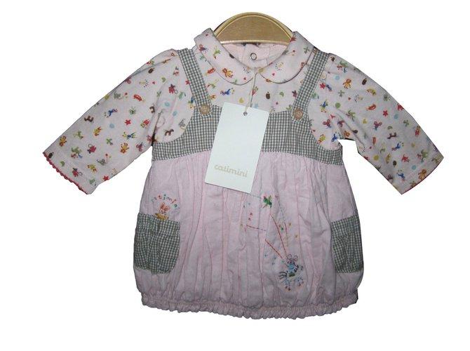 Catimini Dresses Dresses Cotton Pink ref.57146