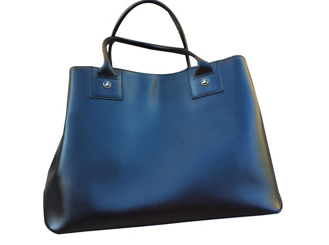 Agnès B Handbags Leather Black Ref 57286