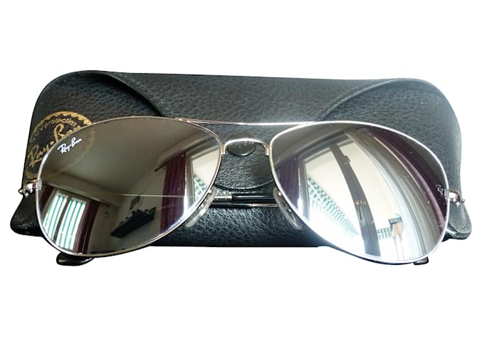 Ray-Ban Cockpit Miroirs RB 3362 003 40 Sunglasses Steel Silvery ref.57520 c8d0909f2636