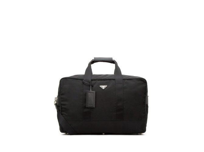 7c8873946ba1 ... reduced prada prada travel bag travel bag nylon black ref.57617 6eabb  9a206