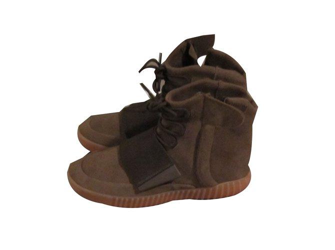 Daim 57624 Adidas Bottes Marron Ref Yeezy Boots 750 Boost Closet Joli XxU68x