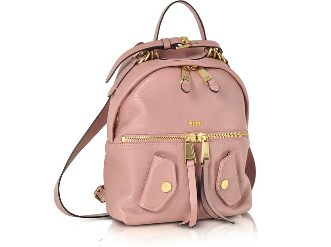 e259042864 Moschino Moschino backpack leather Backpacks Leather Pink ref.57797 ...