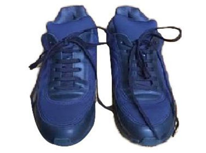 Chanel Sneakers Sneakers Cloth Blue ref.57816