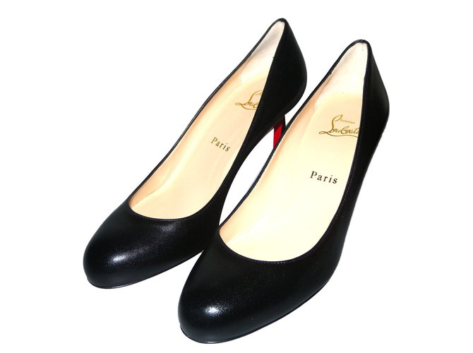 b2c373f92d Christian Louboutin Simple Pump 70 Heels Leather Black ref.57833 ...