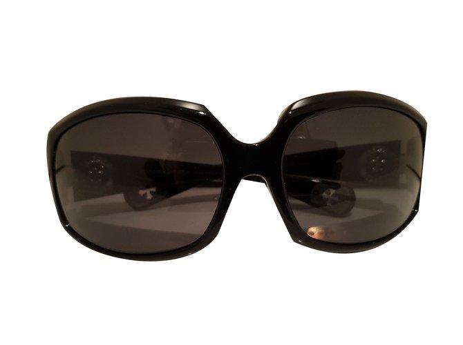 f4f8e220a831 Chrome Hearts Sunglasses Sunglasses Plastic Black ref.57845 - Joli ...