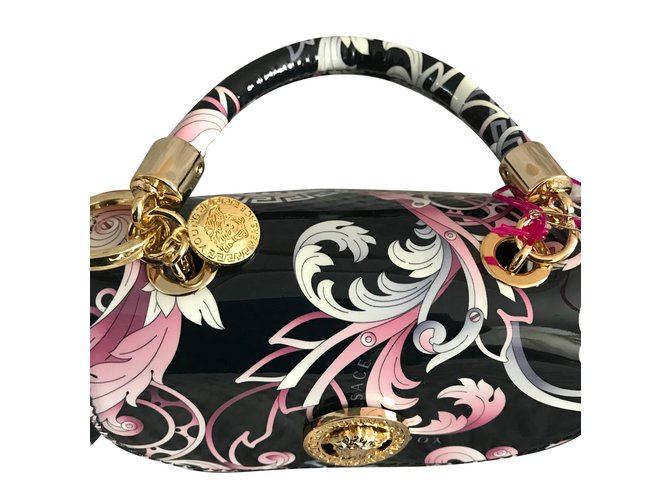724c90906e23 Gianni Versace New Baroque Young Versace bag Handbags Leather Multiple  colors ref.58048