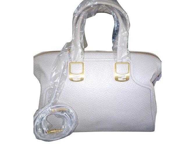 Fendi FENDI Chameleon Duffle Leather Handbag - New and never used Handbags  Leather Beige ref. 023f3b909b5dc