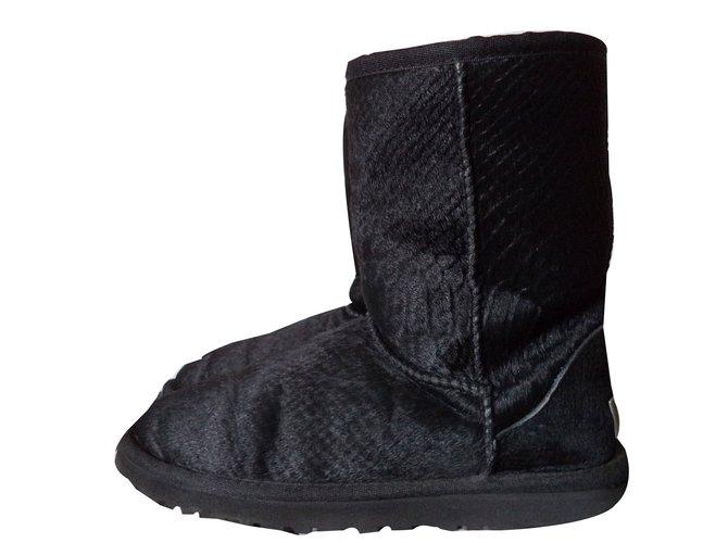 bottes ugg noir
