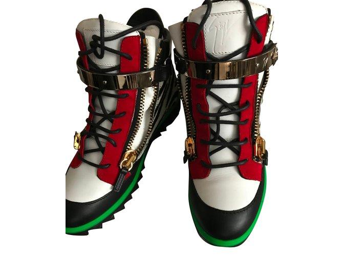 53b3da421be11 Giuseppe Zanotti Giuseppe Zanotti Women's Pony Hair Fashion Sneakers Shoes  - Size 8/41 Sneakers