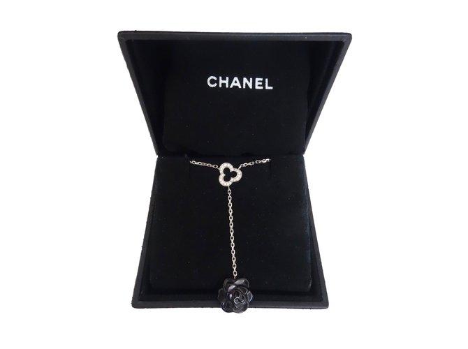Chanel pendant necklaces pendant necklaces white goldceramic black chanel pendant necklaces pendant necklaces white goldceramic blackwhite ref59201 aloadofball Choice Image