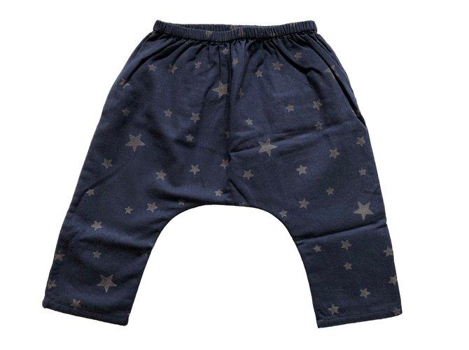Pantalons fille Louis Louise Pantalons fille Coton Bleu ref.59237