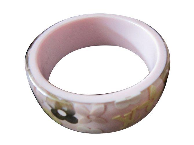 Bracelets Louis Vuitton Bracelets Résine Rose ref.59523