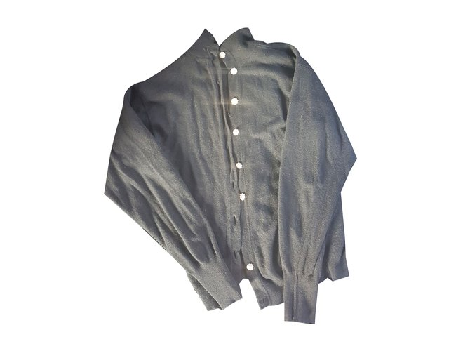 Chanel Knitwear Black Cashmere  ref.59592