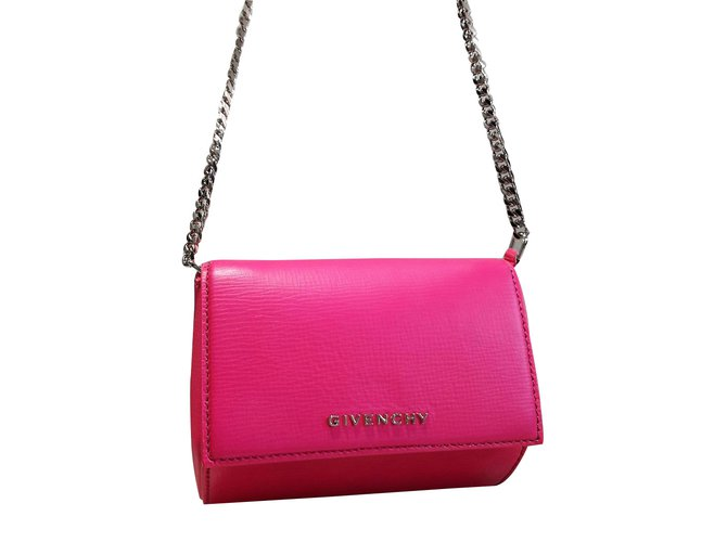 cd5c0076063 Givenchy Pandora box micro Handbags Leather Other ref.59733 - Joli ...
