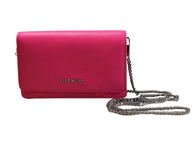 e5274c84049 Sacs à main Givenchy Pandora Chain Wallet Cuir Autre ref.59734 ...