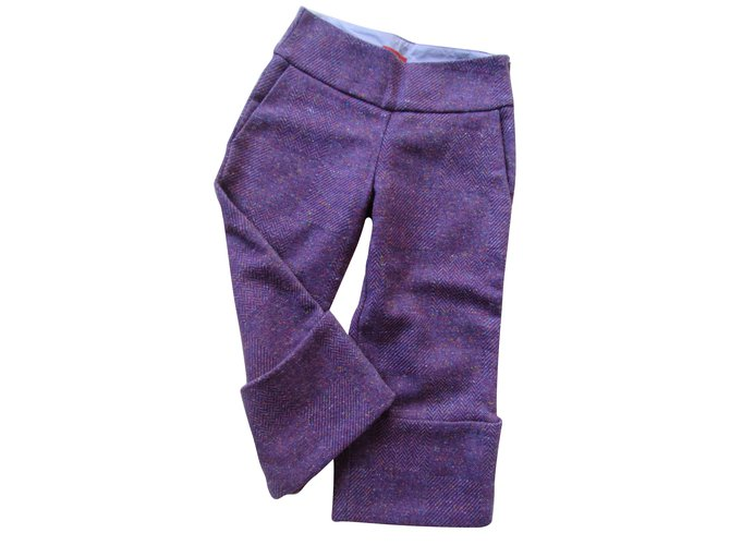 Pantalons fille Kenzo Pantalons fille Laine Violet ref.60083
