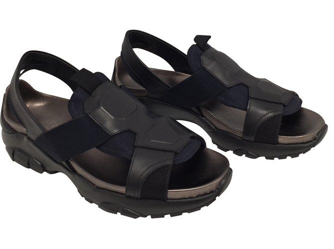 3158cf68581d Salvatore Ferragamo Men Sandals Men Sandals Leather Multiple colors  ref.60155