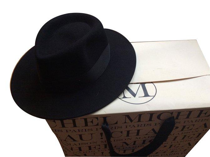 Maison Michel Hats Hats Other Black ref.60387