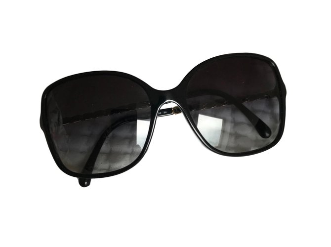 f149ee04a5b6 Chanel Sunglasses Sunglasses Other Black ref.60429 - Joli Closet