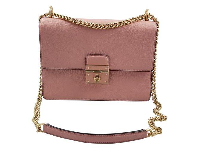 2831c084c37b Dolce   Gabbana Rosalia Handbag Handbags Leather Pink ref.60448 ...