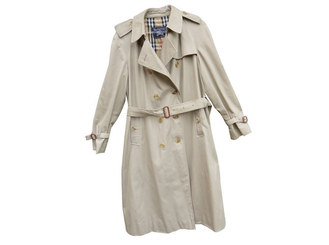 4eca6591e33 Burberry Trench coats Trench coats Cotton