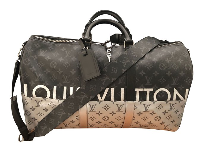 32153b51fd19 Louis Vuitton Keepall 50 Bags Briefcases Leather Multiple colors ref.61059