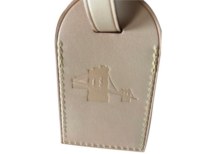 Louis Vuitton Louis Vuitton Large Luggage Tag Hot Stamping Brooklyn