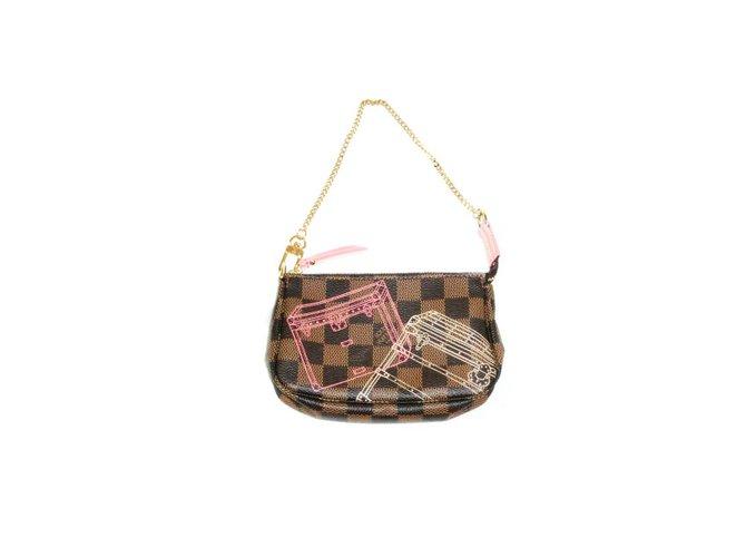 8af1bb495ecb Louis Vuitton Louis Vuitton Mini Pochette Accessoires Christmas Animation  2014 Limited Edition Handbags Other Other ref