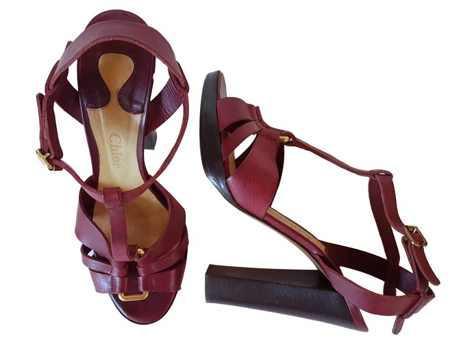 Chloé Heels Heels Leather Other ref.61756
