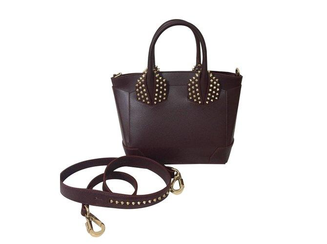 Louboutin Eloise Bag Handbags Leather Red Ref 61884