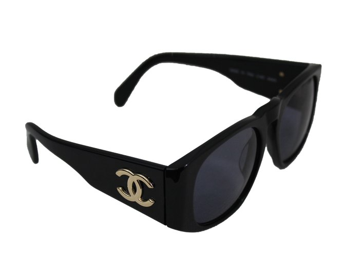 322e84331fcc Chanel Sunglasses Sunglasses Plastic Black ref.62108 - Joli Closet