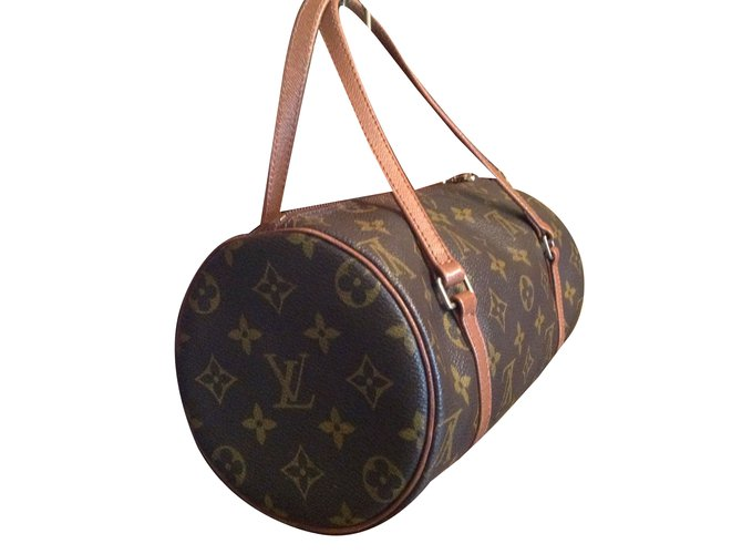 ceaf2161183b Louis Vuitton Papillon Handbags Leather Brown ref.62565 - Joli Closet